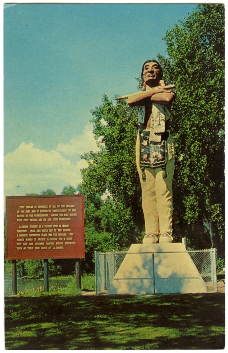 Hiawatha Statue: Arts Board to Meet