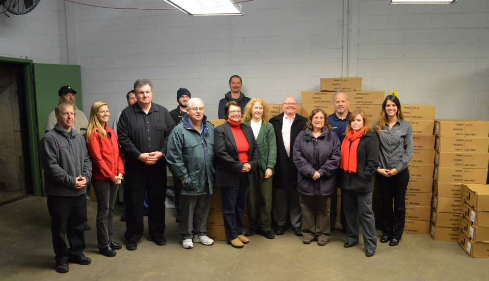 In 2017 The Total Was 250 Turkeys Donated Packed Up And Delivered By Wettstein S Employees