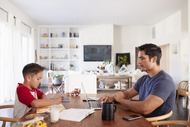 How to Work From Home (With Kids Home Too)